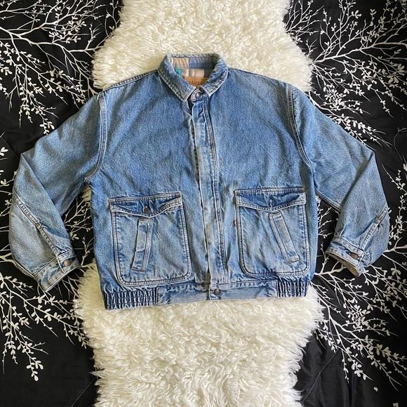 90's Vintage Levi's zip Jacket *RARE!!*